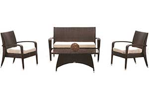 Out door 2 seater sofa set